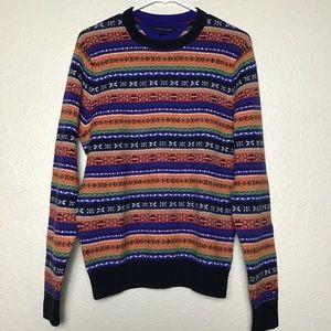 Tommy Hilfiger Lux Cotton Rainbow Knit Sweater